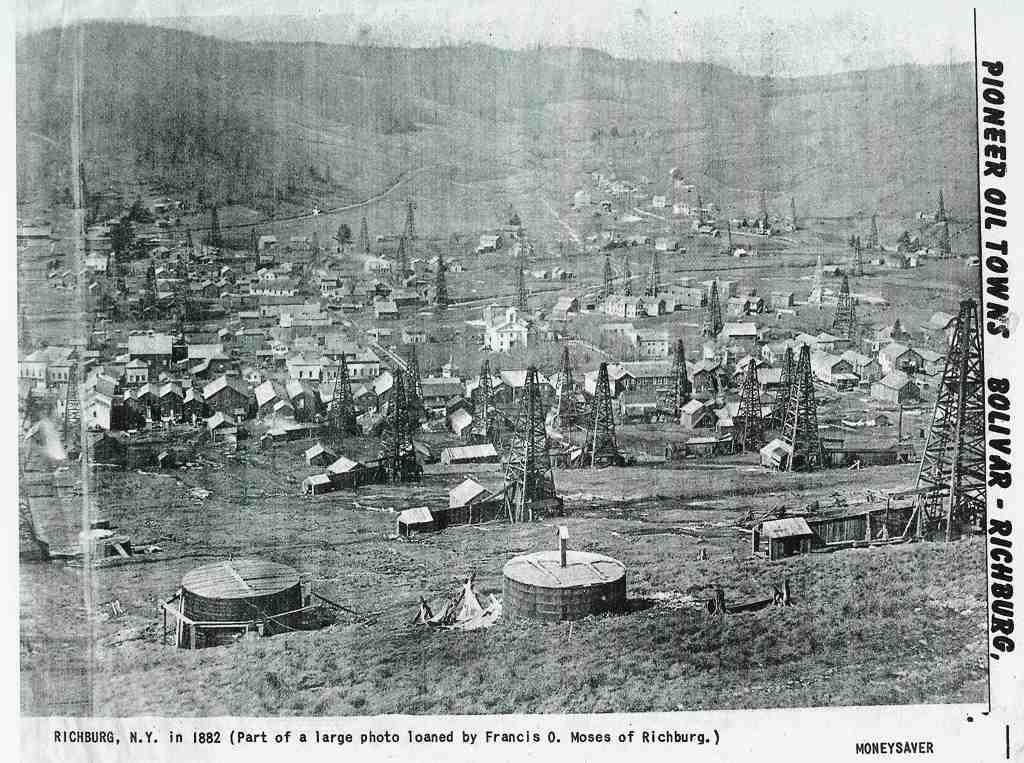 Richburg NY in 1882.