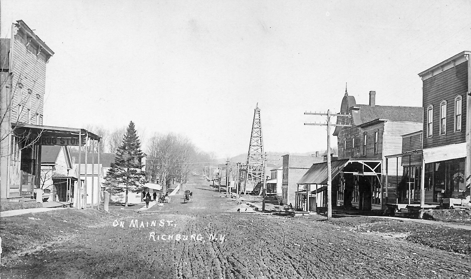 Richburg on Main Street circa 1900