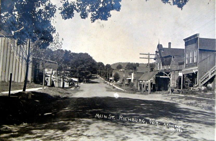 Richburg on Main Street circa 1910