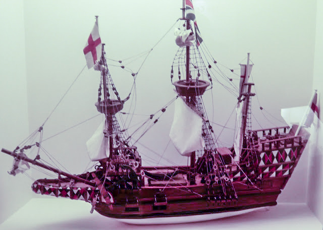 Model of ship Lyon