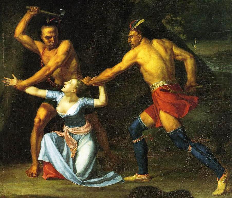 The Death of Jane McCrea by John Anderlyn, 1804