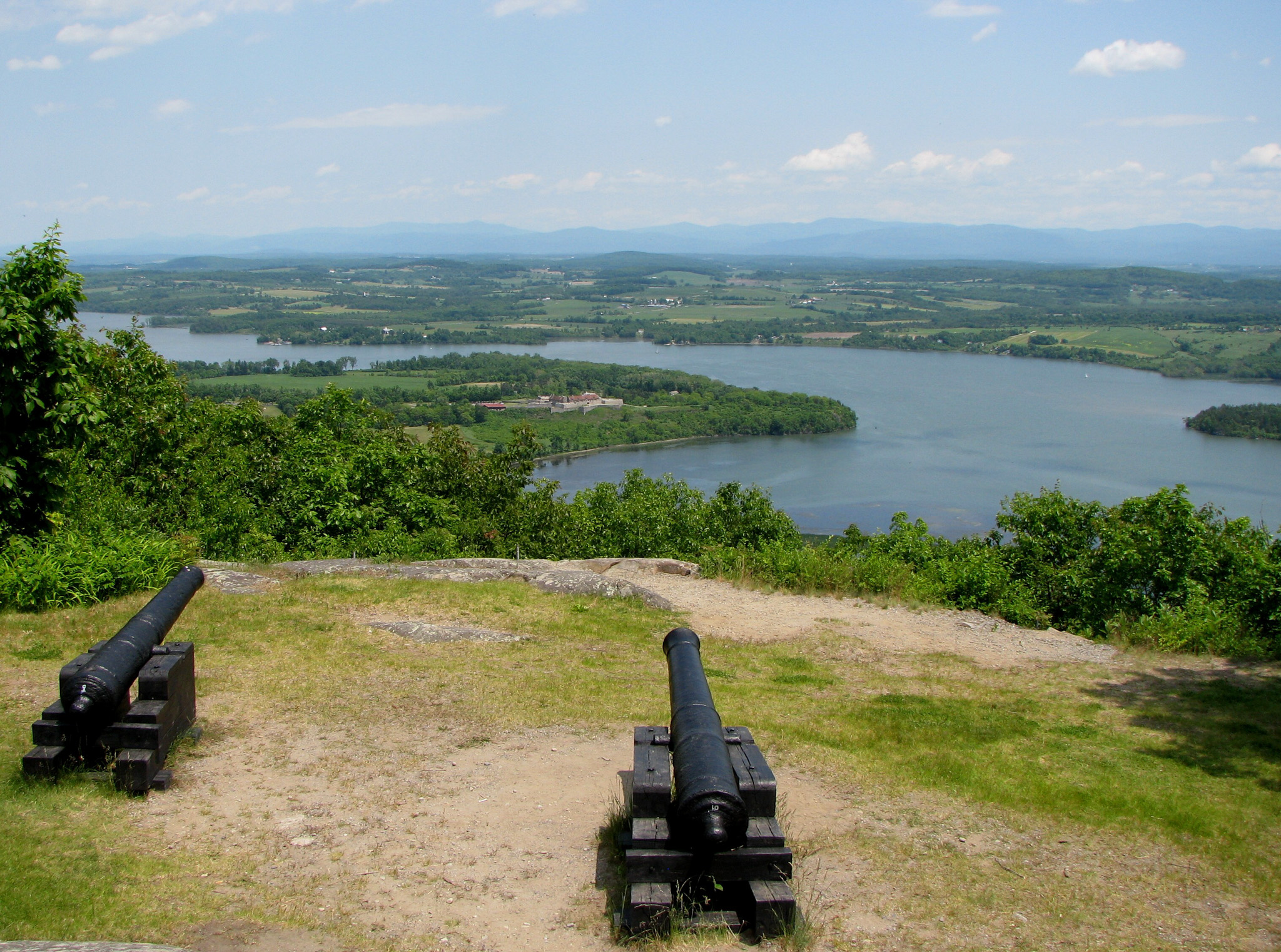 View from Mount Defiance, Ticonderoga NY