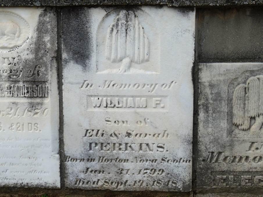 William Francis Perkins Gravestone