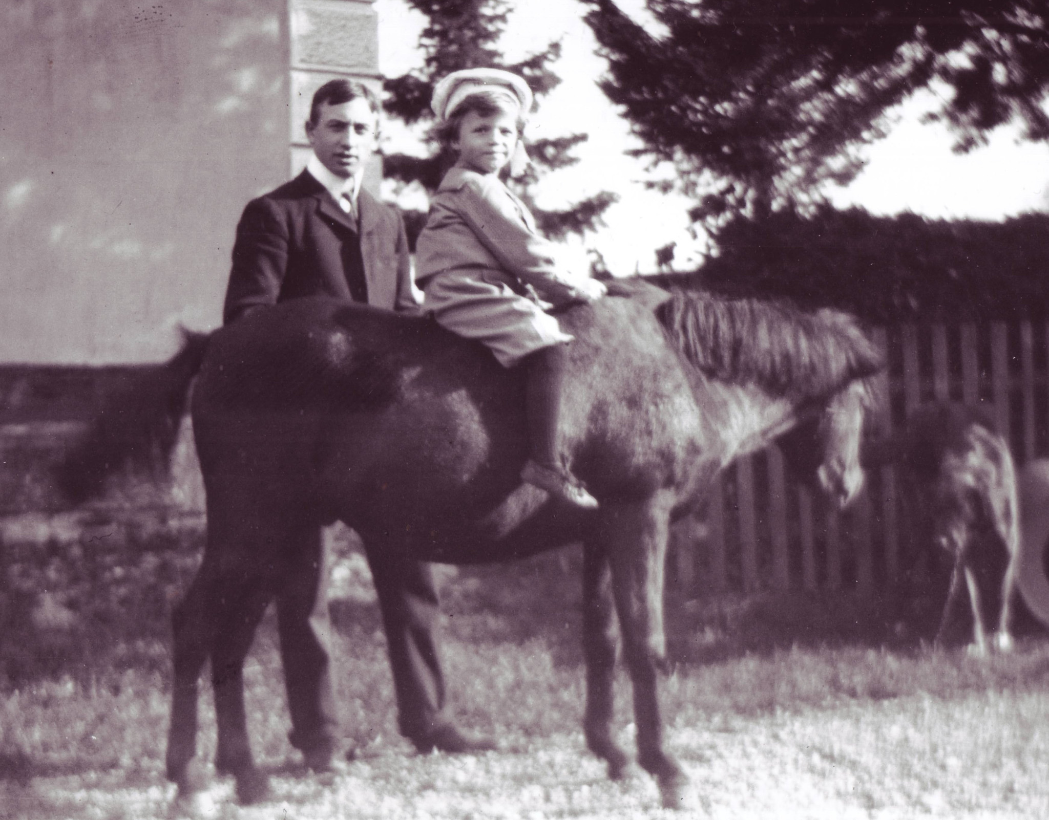 George and Cyrus Perkins