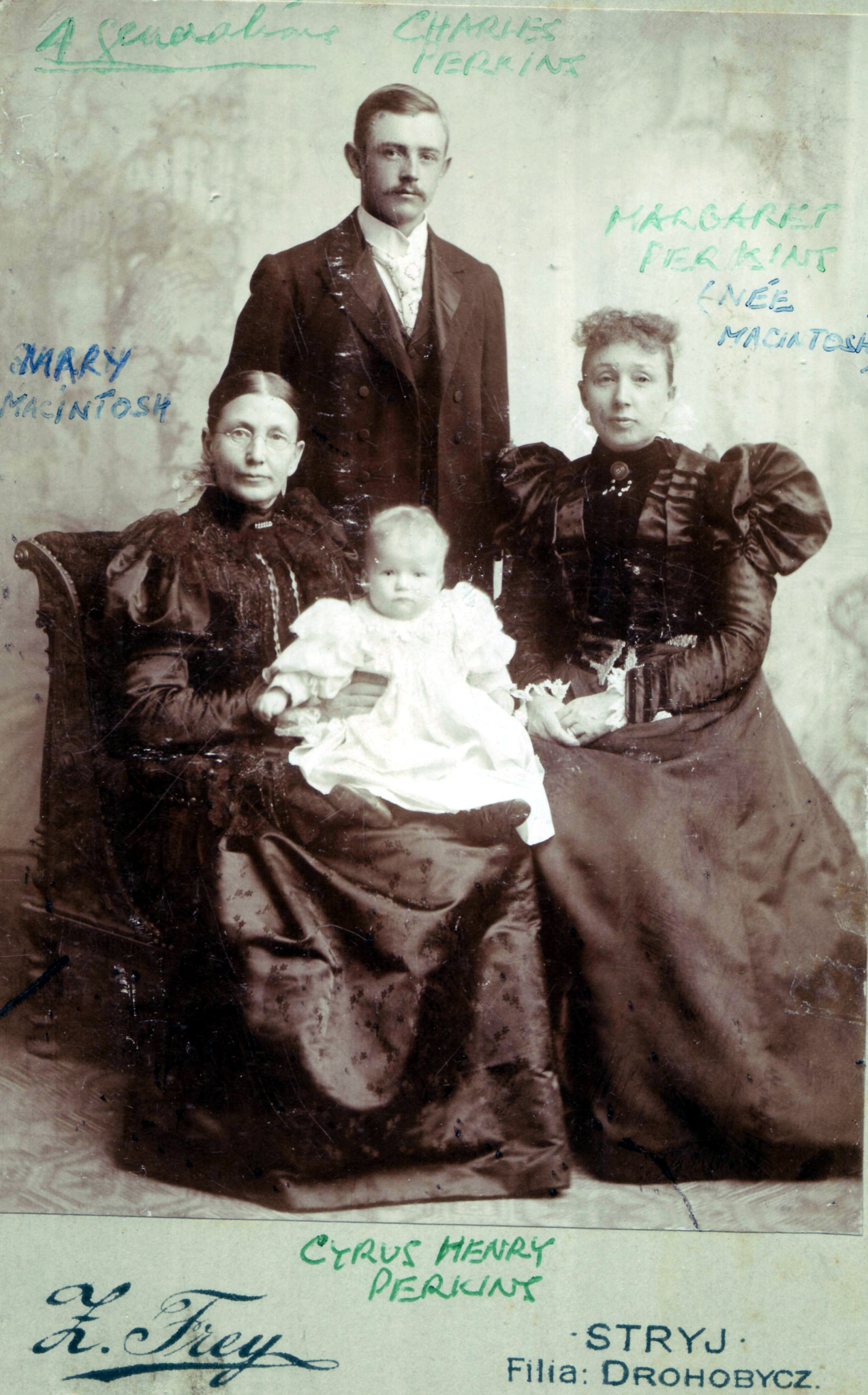 Four Generations on Mother's Side