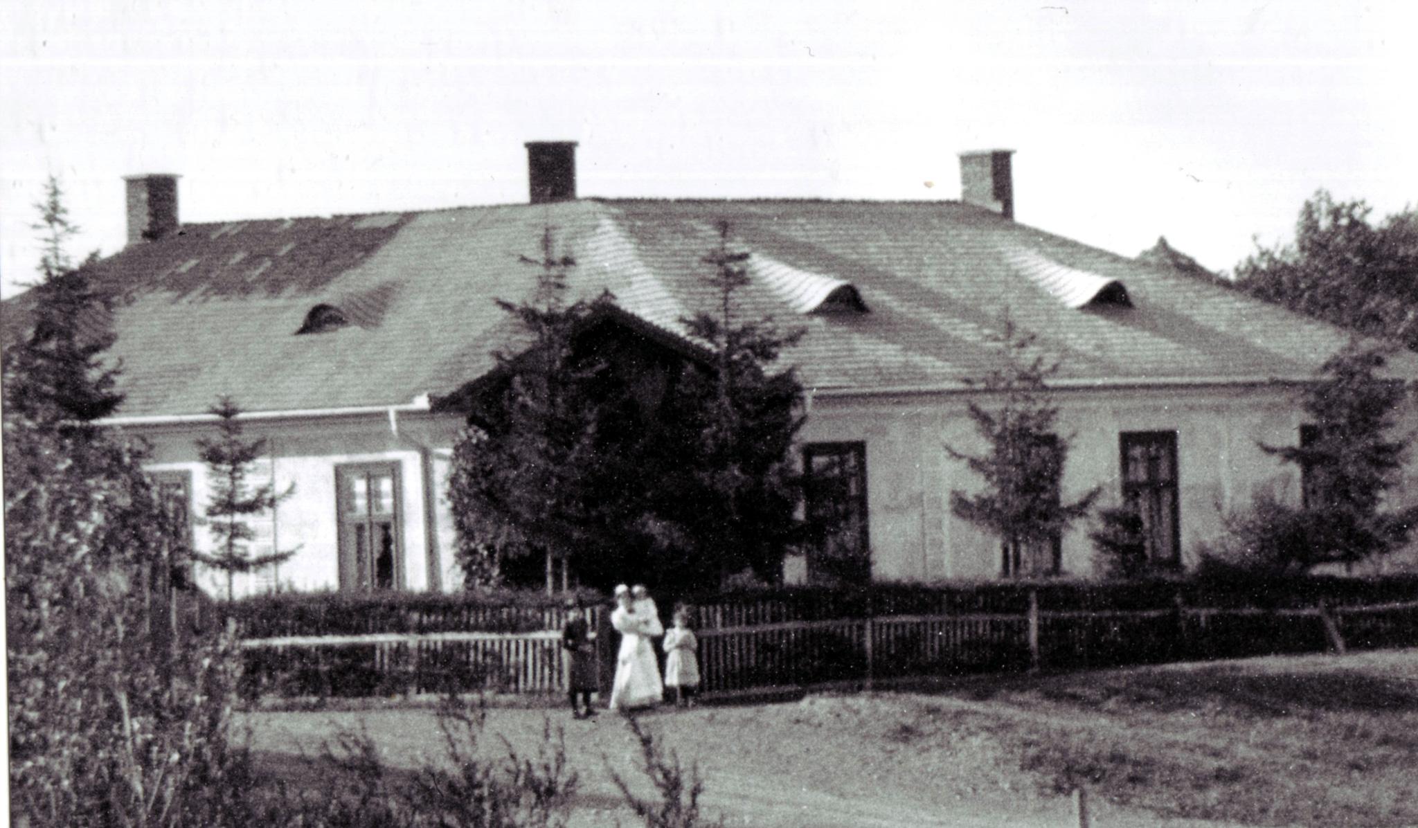 Perkins House in Stryj
